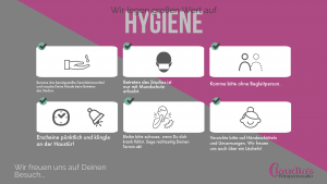 Hygienehinweise